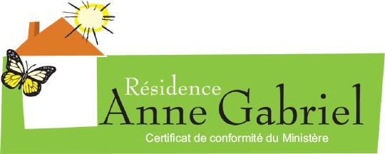 Logo de la Résidence Anne Gabriel, résidence à Terrebonne